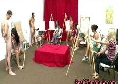Sexual artistic cfnm bj