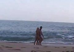 Daniela - sex on the beach - amazing cum shot