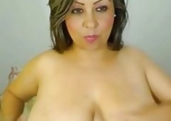 large tit mexican cam sweetheart milks tits